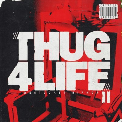 Kryptic Samples - Thug 4 Life 2 West Coast Loops