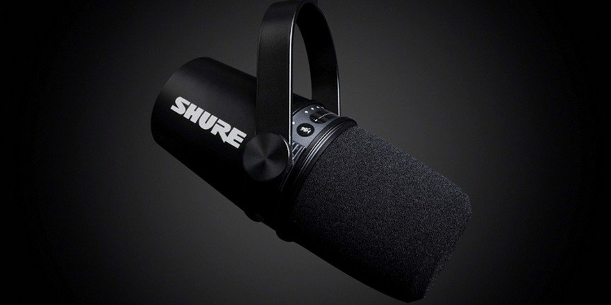 Shure MV7 - New Dynamic Microphone For Podcasts