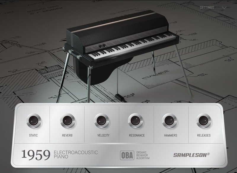 1959 Electroacoustic Piano VST Plugin