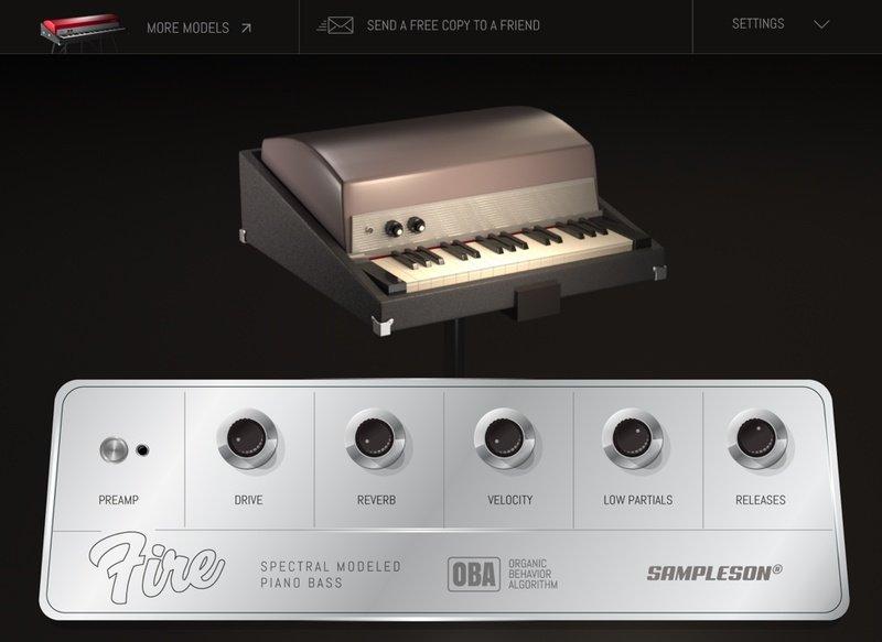 Fire Bass Piano VST Plugin