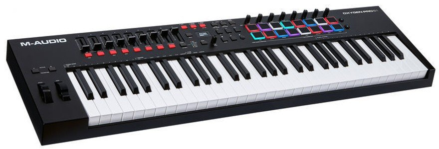 M-Audio Oxygen Pro 61 MIDI Keyboards