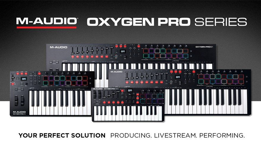 M-Audio Oxygen Pro Seris MIDI Keyboards