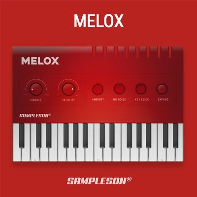 Melox Melodica VST Plugin Instrument