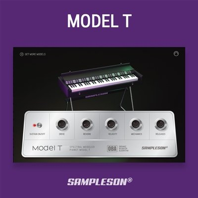 Model T VST Plugin - Spectral modeled 80s EP