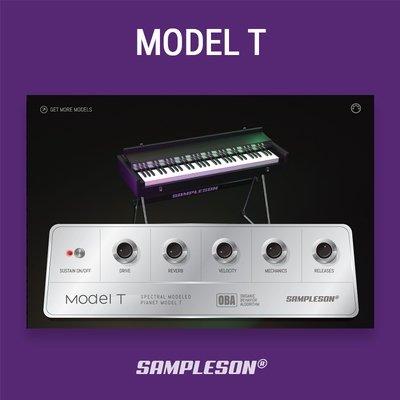 Model T VST Plugin - Spectral modeled 80s EP