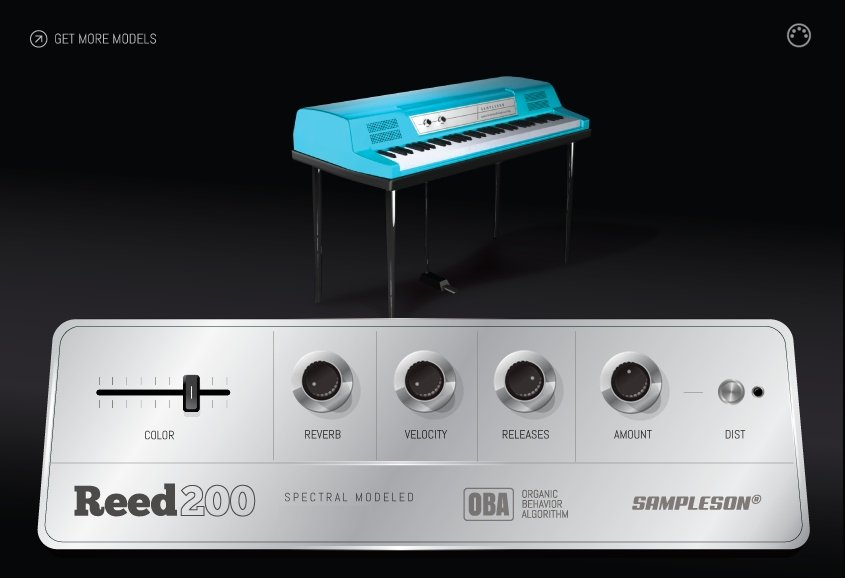 Reed200 Electric Piano VST Plugin