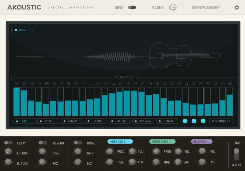 Sampleson - Akoustic Software Synthesizer
