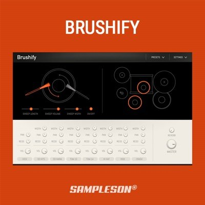 Sampleson - Brushify Drum Machine Plugin
