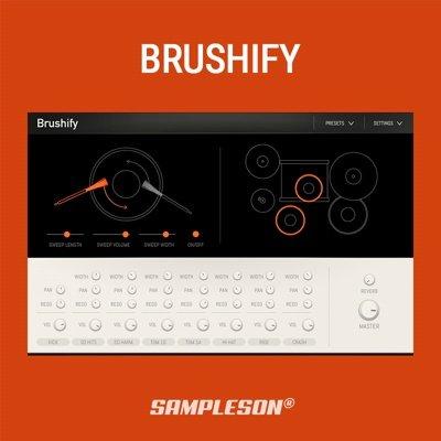 Sampleson - Brushify Drum Machine Plugin