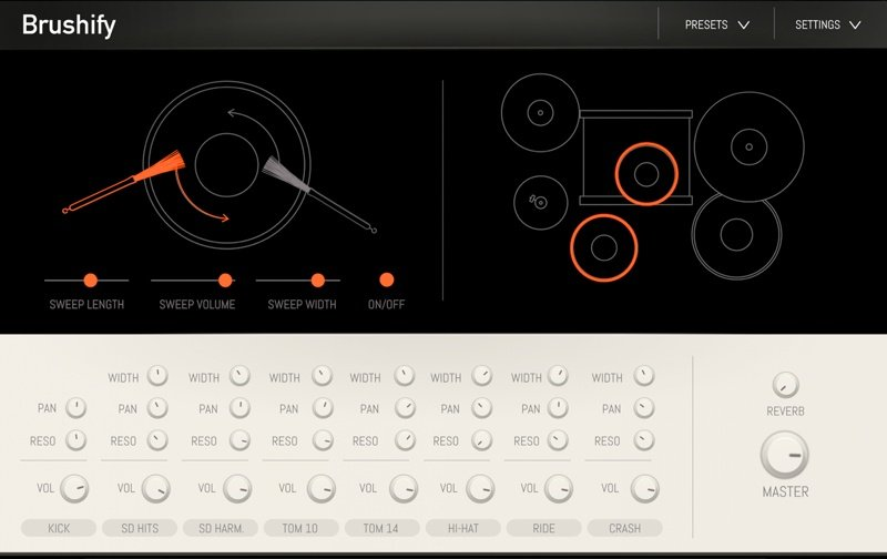 Sampleson Brushify Drum VST Plugin