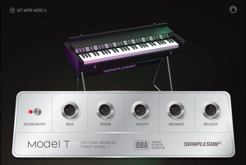 Sampleson - Model T Spectral modeled 80s EP