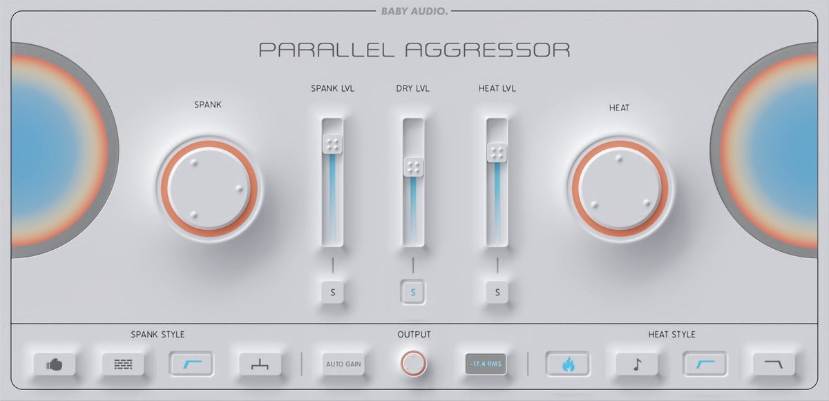 BABY Audio - Parallel Aggressor GUI