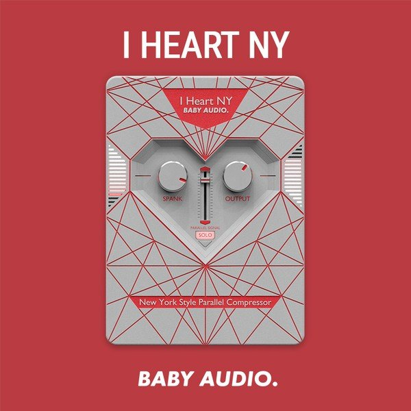 Baby Audio - I Heart NY 600x600