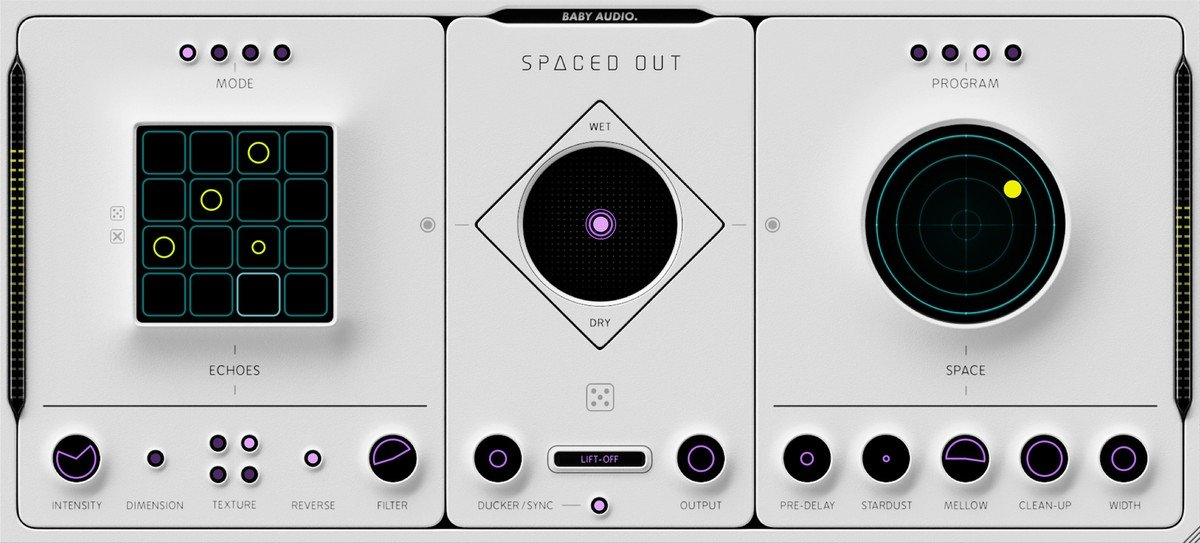 Baby Audio Spaced Out GUI