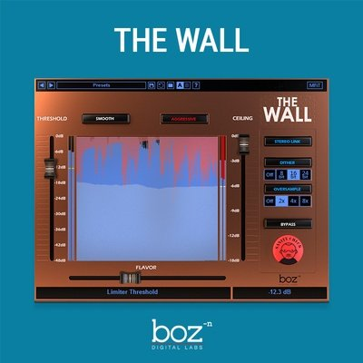 Boz Digital - The Wall Limiter VST Plugin