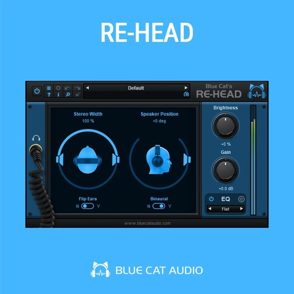 Re-Head Headphones Mastering VST Plugin
