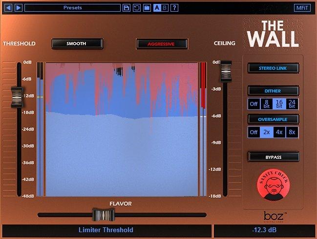 The Wall Limiter VST Plugin