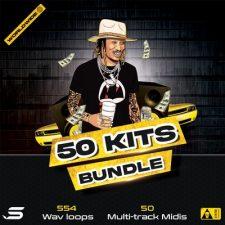 50 Kits Bundle - Wav Midi Loops