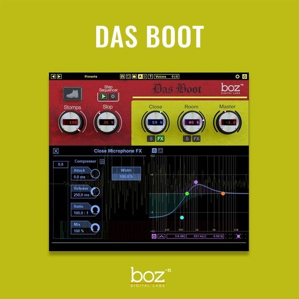 BOZ Das Boot VST Plugin