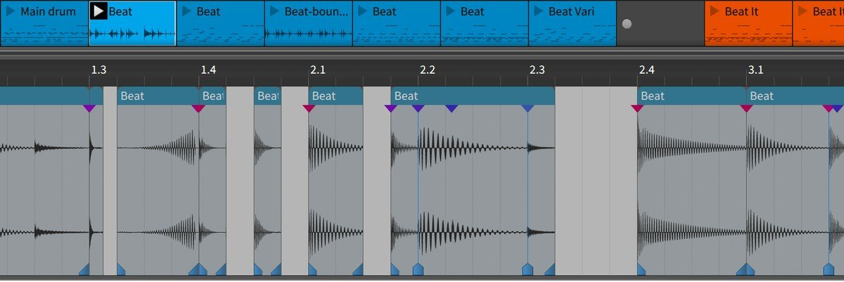 Bitwig Studio Audio Editor