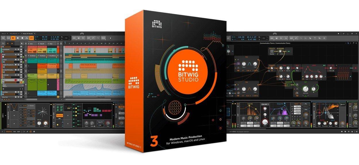 Bitwig Studio Music Software
