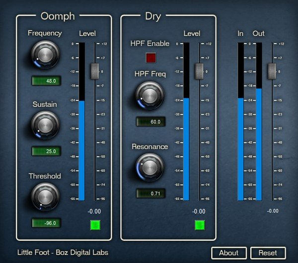 Boz Digital Little Foot VST Plugin