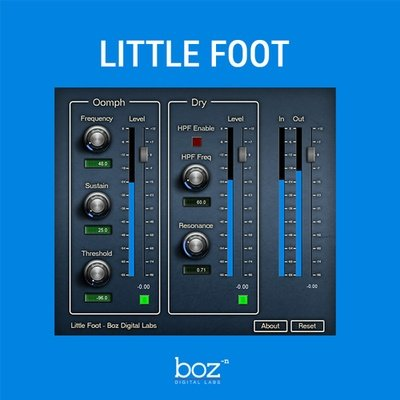 Boz - Little Foot Drum VST Effect