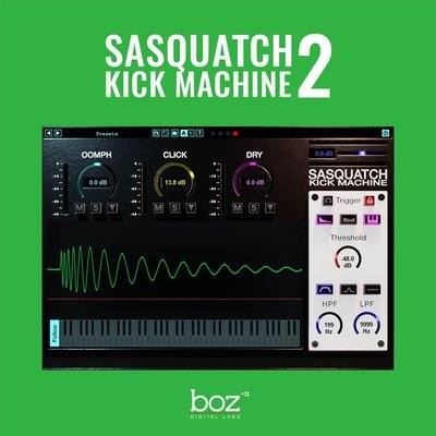 Boz Sasquatch Kick Machine 2 VST Plugin