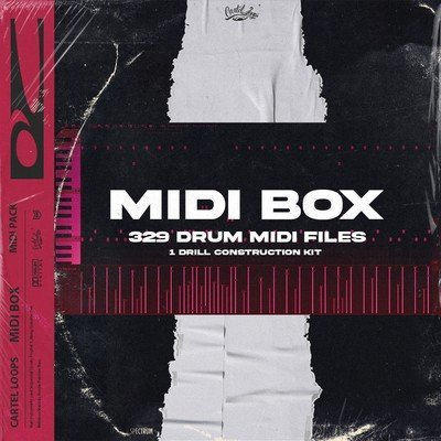 Cartel Loops - Midi Box MIDI 329 Drum MIDI Files