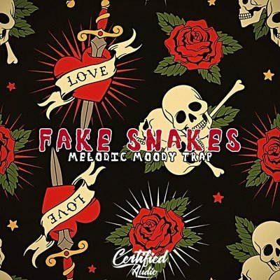 Certified Audio - Fake Snakes Moody Trap Loops