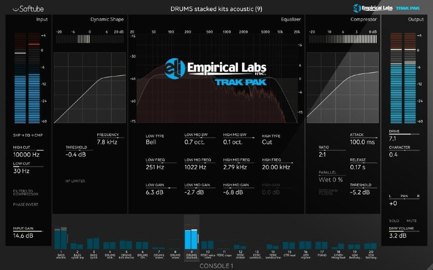 Empirical Labs Trak Pak for Console 1