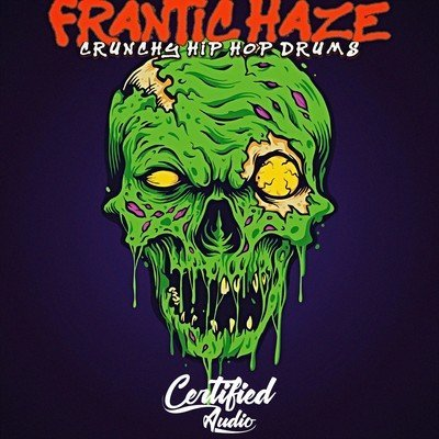 FRANTIC HAZE CRUNCHY HIP HOP DRUMS