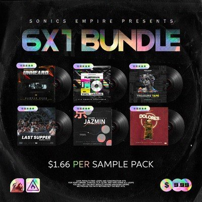 Sonics Empiore - 6X1 Bundle Vol.1
