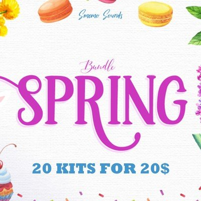 Smemo Sounds - Spring Bundle 20 Kits