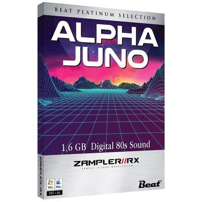 Alpha Juno - Zampler Rx Digital 80s SoundBank