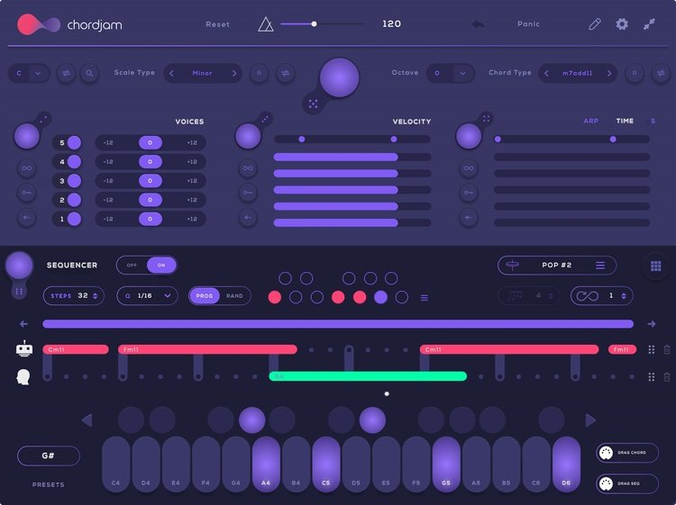 Audiomodern Chordjam Plugin (Windows Mac)