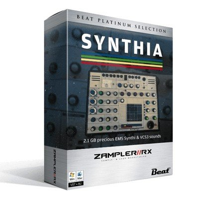 Zampler Synthia EMS Synth VCS3 Sounds