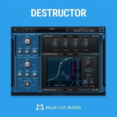 Blue Cat Audio Destructor VST Plugin