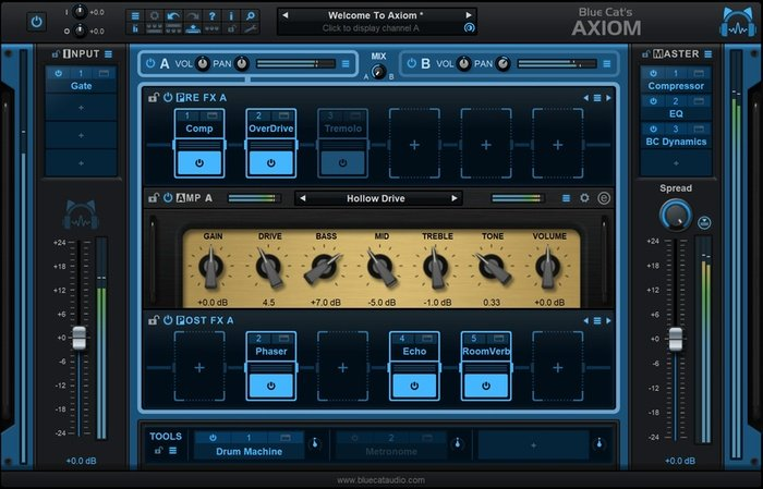 Blue Cat Axiom Guitar Amp VST Plugin