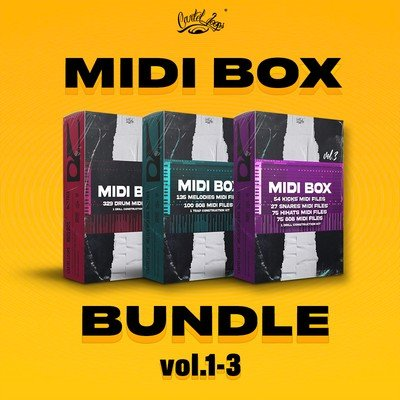 Cartel Loops - MIDI Box Bundle 1-3