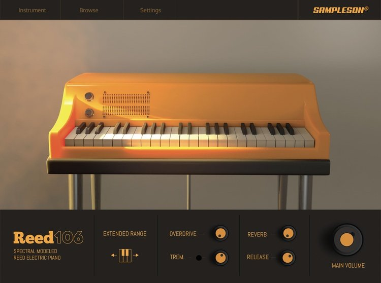 Sampleson Reed 106 Electric Piano VST Plugin