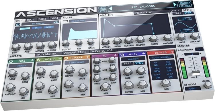Ascension VST Plugin (3D)