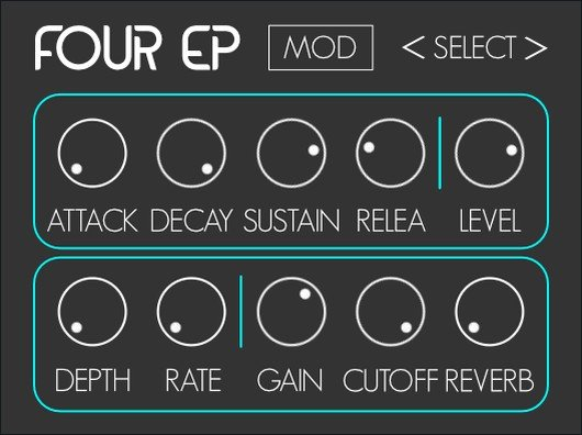 Four EP Free Piano VST Plugin