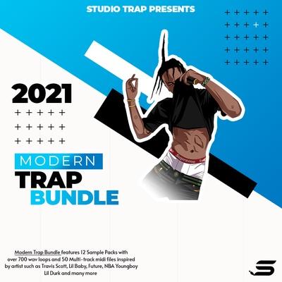 Modern Trap Loops Bundle 2021