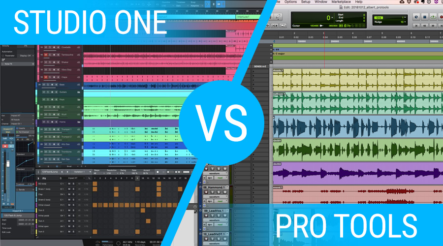 Studio One DAW Vs Pro Tools DAW What's The Difference