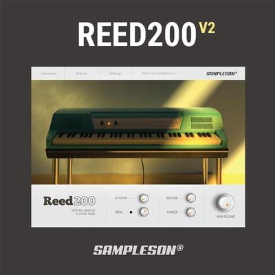 Reed 200 V2 Piano VST Plugin (Cover)