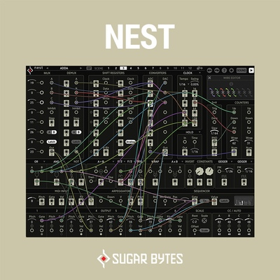 Sugar Bytes - NEST Modular Synth VST Plugin